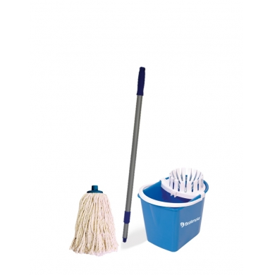 Conjunto balde con mopa
