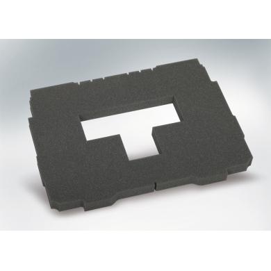 "Acolchado para base ""pick & pluck"", 25 mm, liso para Systainer® T-Loc I - V"