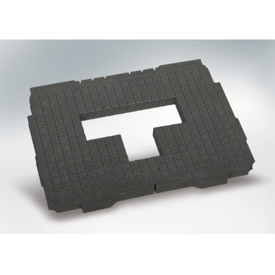 "Acolchado para base ""pick & pluck"", 25 mm, rígido para Systainer® T-Loc I - V"