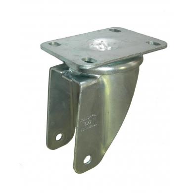 Base estampada zincada giratoria pesante de platina p/rueda 52