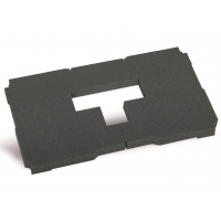 "Acolchado ""pick & pluck"", 30 mm, liso para MIDI-Systainer® T-Loc II + III"