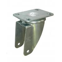 Base estampada zincada giratoria pesante de platina p/rueda 82